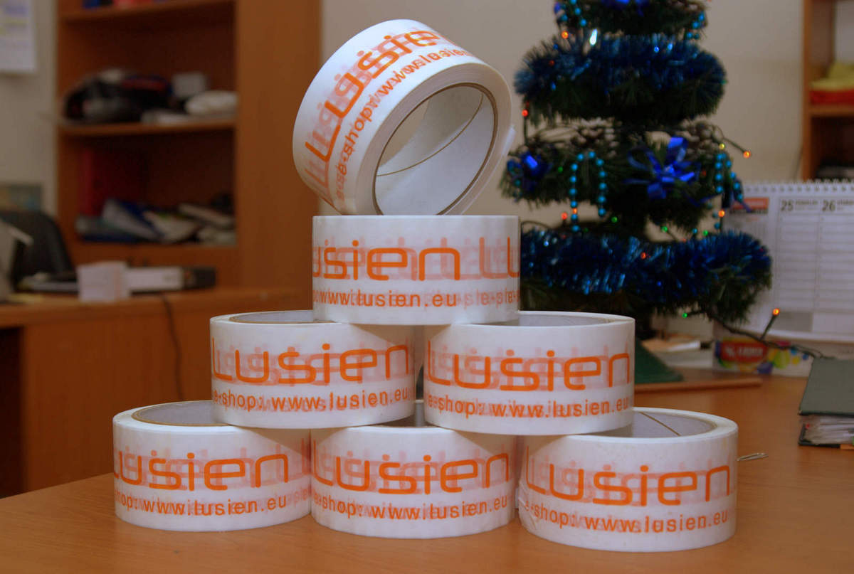 63d18636d Kvalitné lepiace pásky s potlačou Lusien