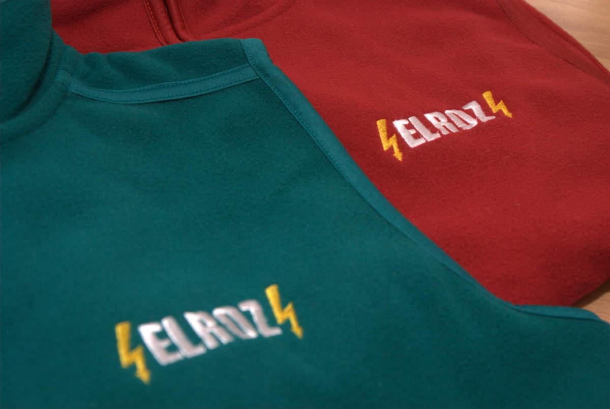 0cf27dc9a290 Fleecové vesty s výšivkou pre firmu ELROZ