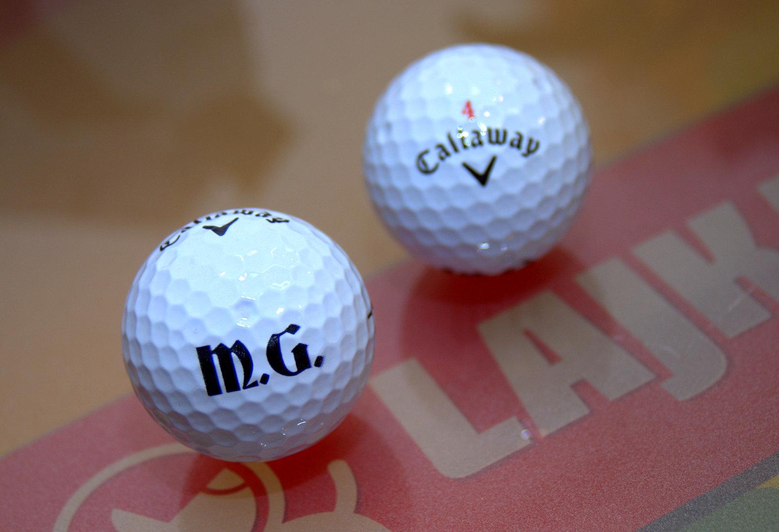 dc5cd5367a435 Priama tlač na golfové loptičky Callaway