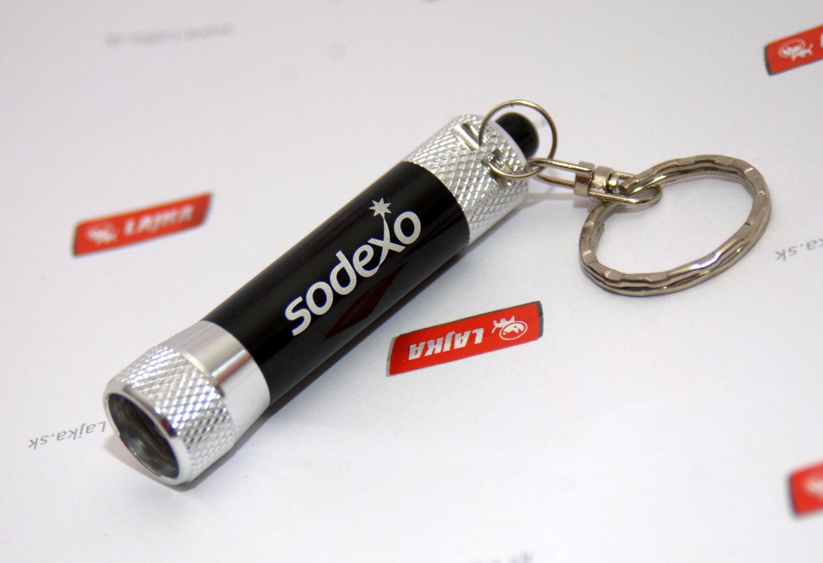 Kľúčenka s baterkou vygravírovaným logom 84f64c7c9ba