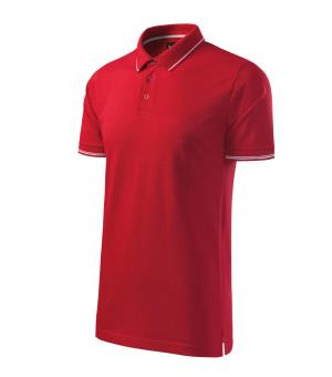 Pánska polokošeľa Perfection Plain, formula Red