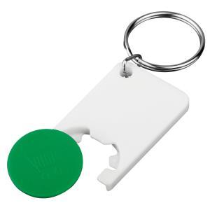 Plastový prívesok na kľúče so žetónom Chipsy b72766015d3