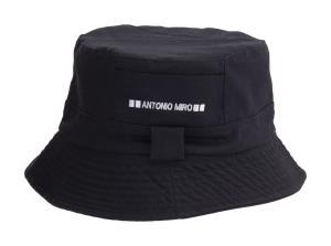 775572855 Bavlnený klobúk Keman, čierna