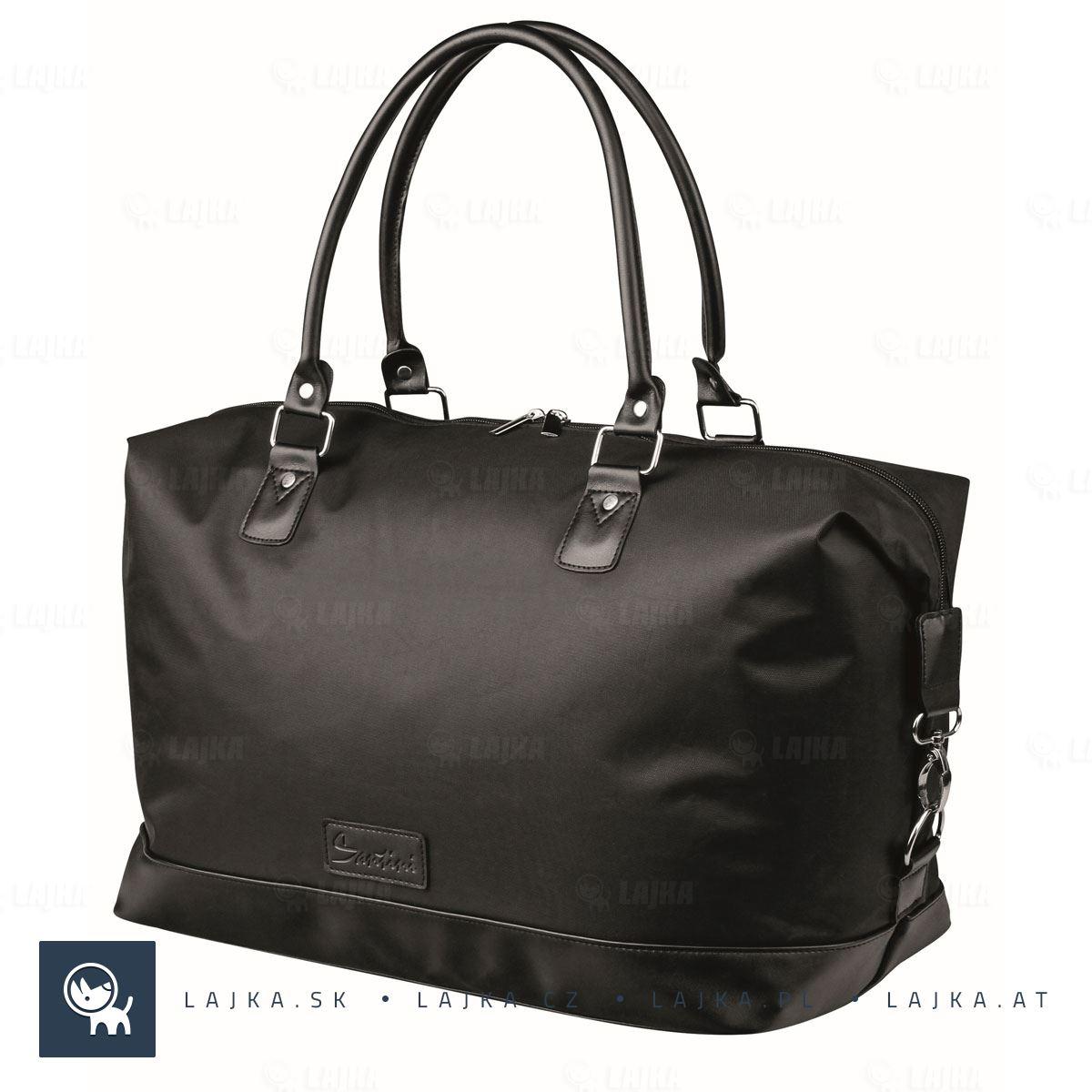 1eae8332d62bd Cestovná taška Mirabu, čierna | LAJKA®