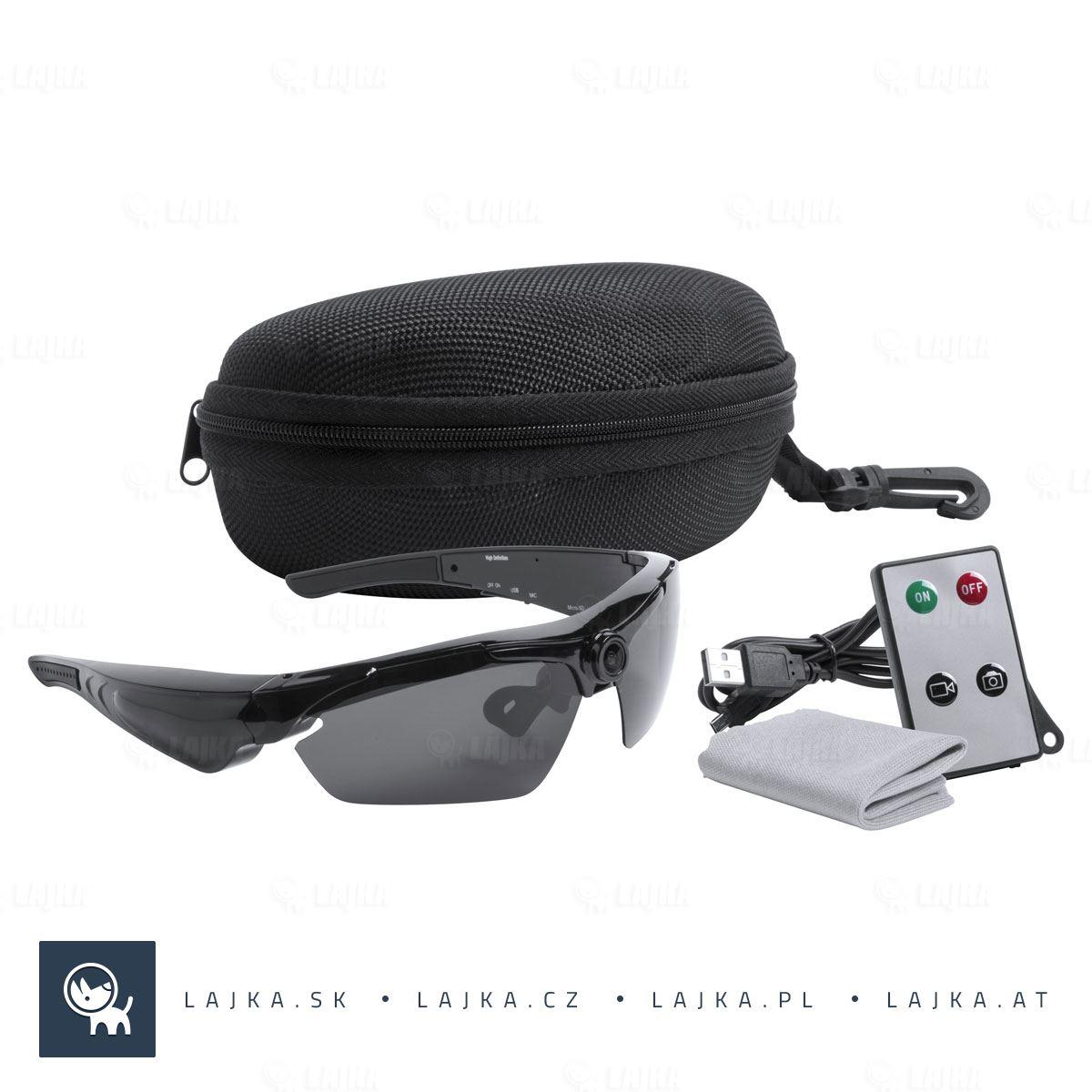 cfa63c37c Slnečné okuliare s kamerou Smith, čierna   LAJKA®