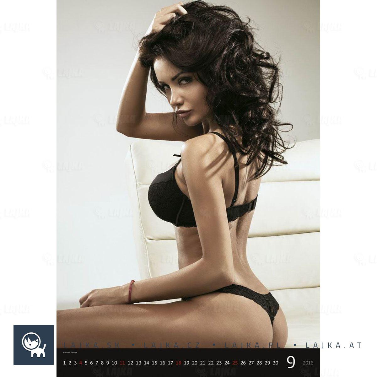 Nástenný kalendár Sexi dievčatá 2016 | LAJKA®